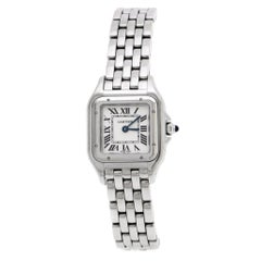 Cartier Panthere de Cartier White Stainless Steel Women's Wristwatch 22mm
