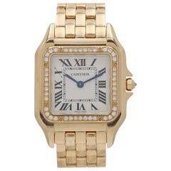 Cartier Panthère de Cartier Yellow Gold Diamond Watch, Medium Model