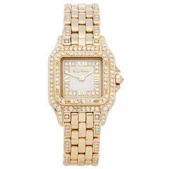 Cartier Panthère Diamond 18 Karat Yellow Gold WF3010FE or 1280