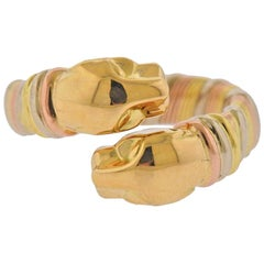 Cartier Panthere Gold Bypass Ring