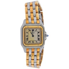Cartier Panthere Gold Steel Two-Tone Ladies Watch