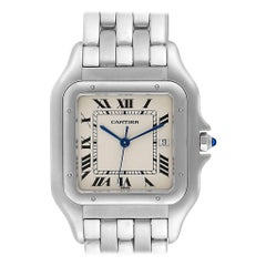 Cartier Panthere Jumbo Stainless Steel Men's Watch W25032P5