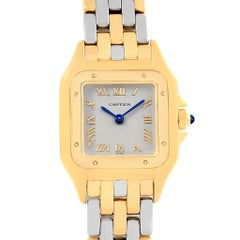 Cartier Panthere Ladies Yellow Gold Steel Ladies Watch 1070