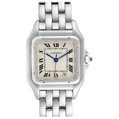 Cartier Panthere Large Stainless Steel Unisex Watch W25054P5