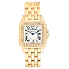 Cartier Panthere Midsize Yellow Gold Diamond Ladies Watch WJPN0016