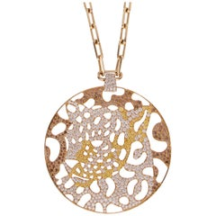 Cartier Panthere Openwork Limited Edition Gold Necklace