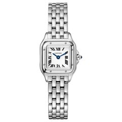 Cartier Panthère Quartz Movement Mini Model Steel Watch WSPN0019
