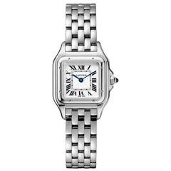 Cartier Panthère Quartz Movement Small Model Steel Watch WSPN0006