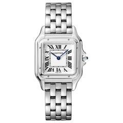Cartier Panthère Quarz Movement Medium Model Steel Watch WSPN0007