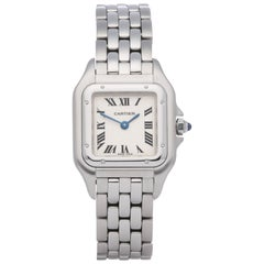 Cartier Panthère Reference 1320 Ladies Stainless Steel Watch
