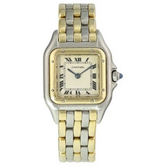 Cartier Panthere Three-Row Ladies Watch