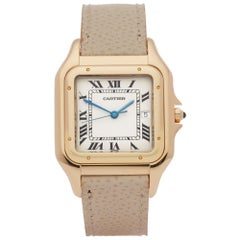 Cartier Panthère Unisex Yellow Gold XL Watch