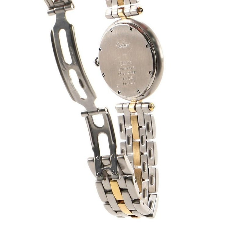 Cartier Panthere Vendome Quartz Watch Stainless Steel and Yellow Gold 30 1