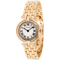 Cartier Panthere VLC 8057921 Women's Watch in 18 Karat Yellow Gold