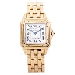 Cartier Panthere WGPN0007 4019 18K Rose Gold Ladies Quartz Midsize Watch