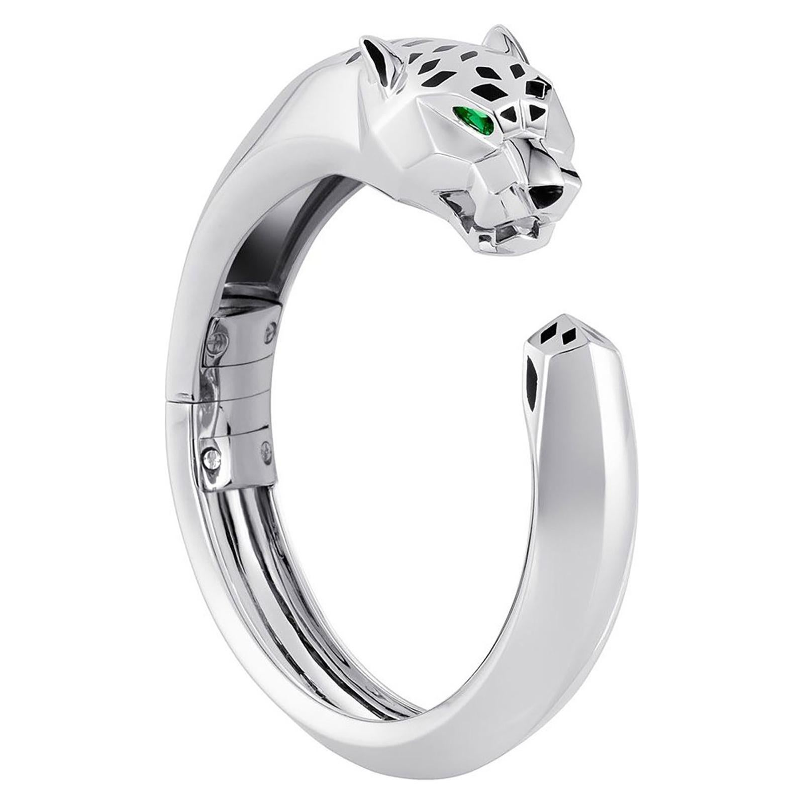 Cartier Panthere White Gold Bangle
