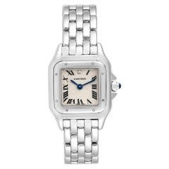 Cartier Panthere White Gold Heart Diamond Dial LE Ladies Watch 1660