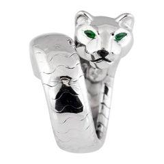 Cartier Panthere White Gold Ladies Ring