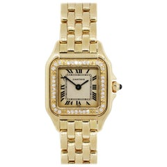 Cartier Panthere Wristwatch