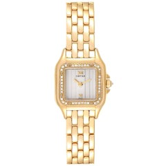 Cartier Panthere Yellow Gold Diamond Ladies Watch WF3070B9