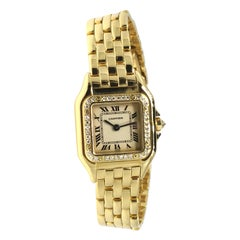 Cartier Panthère, Yellow Gold, Diamonds, Reference 1280-2, Mint Condition