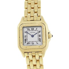 Cartier Panthere Yellow Gold W25022B9 Ladies Watch