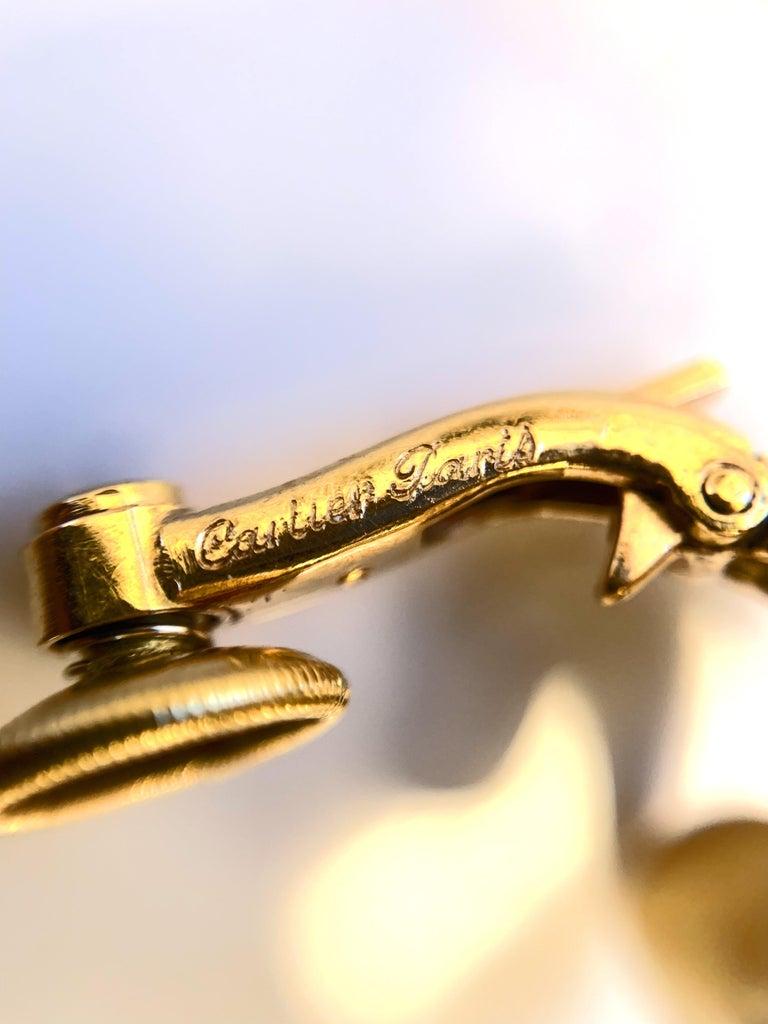 Cartier Paris 1950s Gold