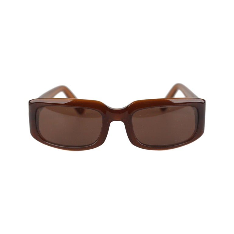 Cartier Paris Brown Women Small Sunglasses T8200319 New Old Stock For Sale 6