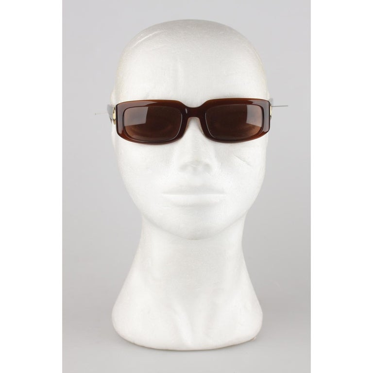 Cartier Paris Brown Women Small Sunglasses T8200319 New Old Stock For Sale 5
