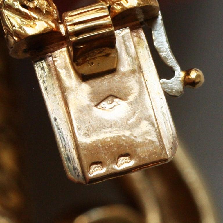 Cartier Paris by Georges Lenfant Gold Knot Bracelet and Ring For Sale 8