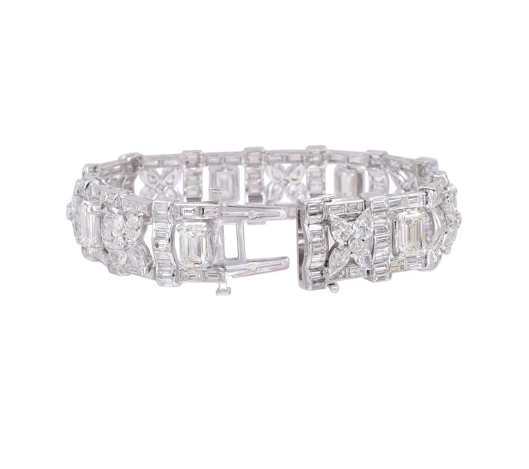 Cartier Paris Diamond Bracelet In Excellent Condition For Sale In New York, NY