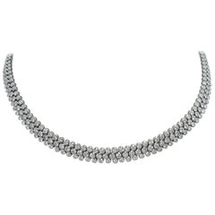 Cartier Paris Diamond Platinum Necklace