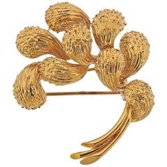 Cartier Paris Gold Brooch Pin