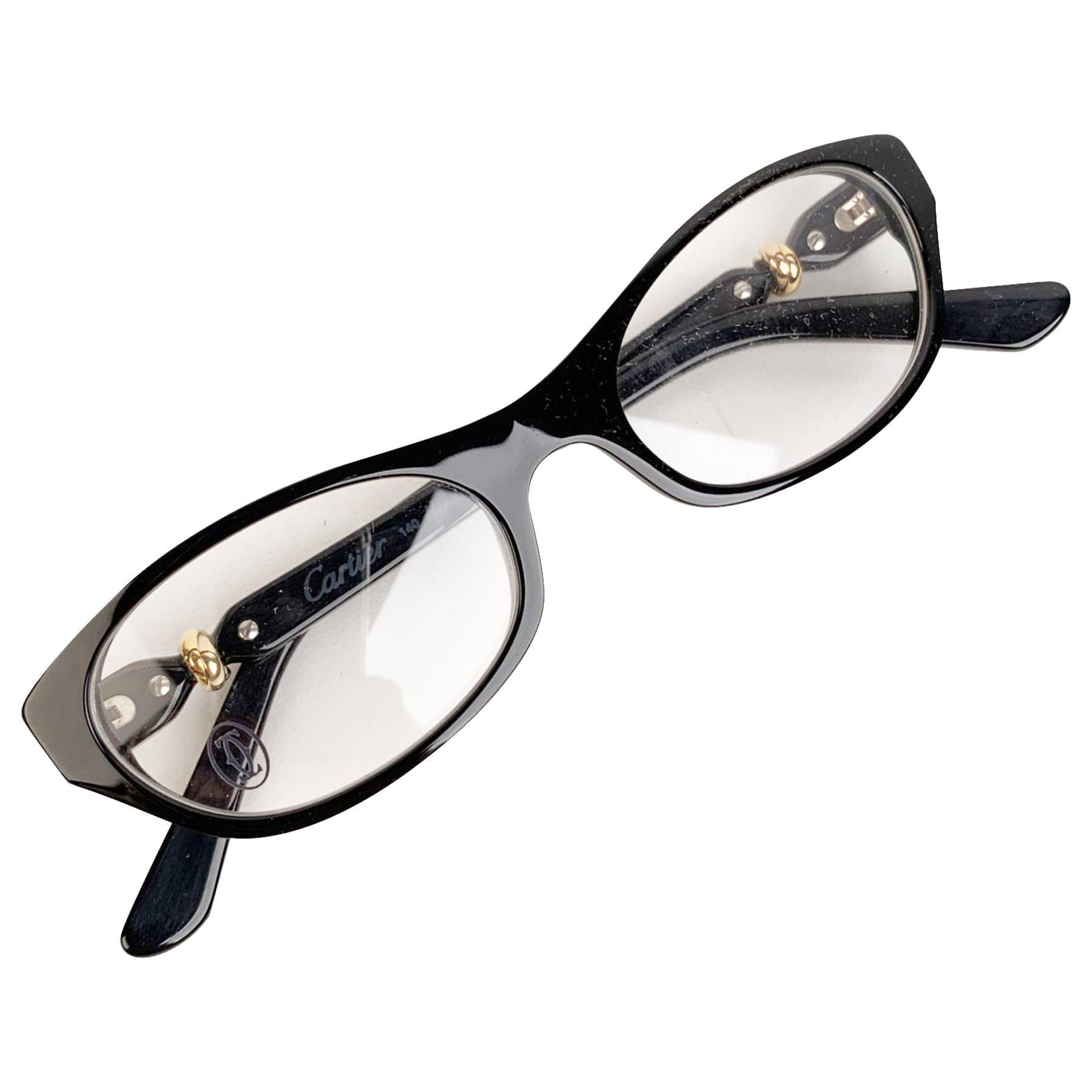 Cartier Paris Mint Eyeglasses Trinity T8101004 51-18 140mm