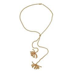 Cartier Paris Nouvelle Vague 18k Rose Gold Necklace