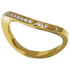 Cartier Paris Nouvelle Vague Diamond 18 Karat Yellow Gold Ring