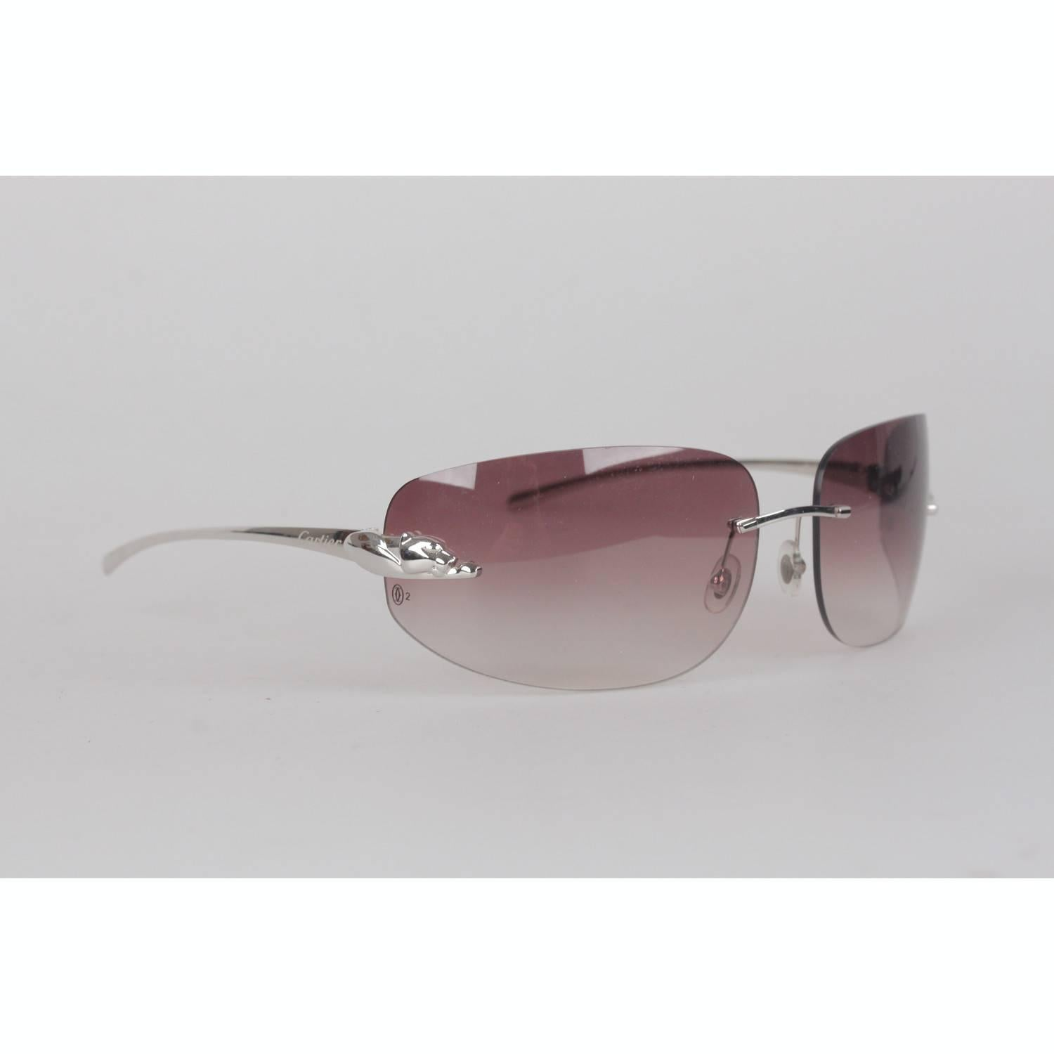 4272449944d Panthère De Cartier Rimless Sunglasses « One More Soul