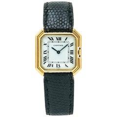 Cartier Paris Sextavado 78099, White Dial, Certified and Warranty