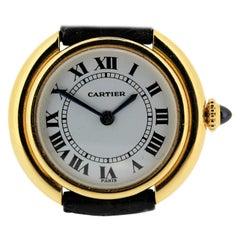 Cartier Paris Vendome Large Automatic Watch with Deployant buckle, Circa 1975