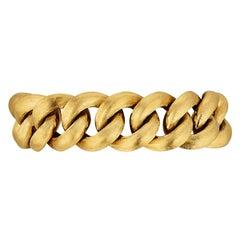 Cartier Paris Vintage Puffy Curb Link Bracelet