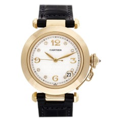 Cartier Pasha 1035, White Dial, Certified and Warranty