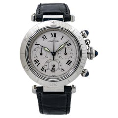 Cartier Pasha 1050 Chronograph Quartz Stainless Steel Unisex Watch
