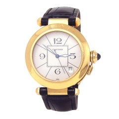 Cartier Pasha 1989, White Dial, Certified and Warranty