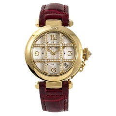 Cartier Pasha 2507, Silver Dial, Certified and Warranty