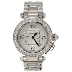 Cartier Pasha 2528, Case, Certified and Warranty