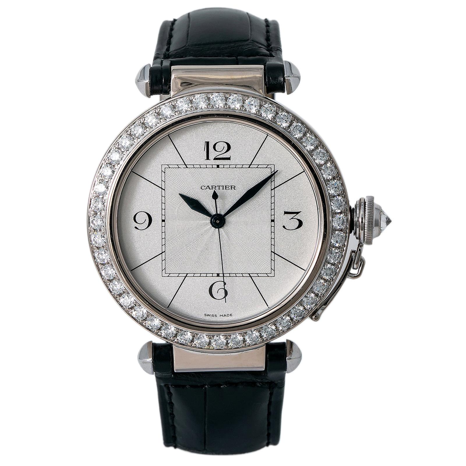 Cartier Pasha 2765 WJ120251, Gold Dial, Certified and Warranty