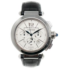 Cartier Pasha 2860, Case, Certified and Warranty