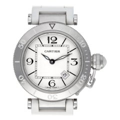 Cartier Pasha 3025, Beige Dial, Certified and Warranty