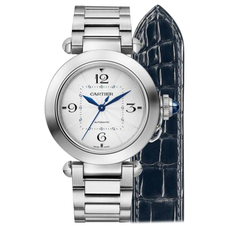 Cartier Pasha Automatic Ladies Watch WSPA0013
