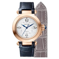 Cartier Pasha Automatic Pink Gold Watch WGPA0014